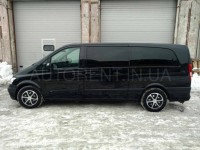 Hire Mercedes Viano Extralong with driver