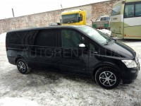 Hire 7 Seater Mercedes Viano Extralong black