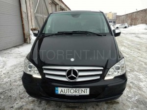 Hire a 7 Seater Mercedes Viano Extralong with driver