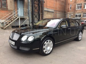 Hire Bentley Flying Spur VIP with driver in Kharkiv