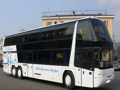 72 Seater Neoplan. Bus hire in Kharkiv