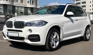 Hire BMW X5 2017 with a driver