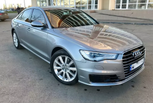 Hire Audi A6 2017 with a driver