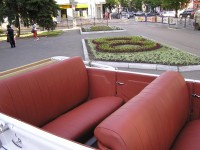Ford Model A cabrio. Classic car hire with a driver in Kharkiv