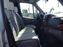 Hire 21 seater Mercedess sprinter 515 VIP Silver in Kharkiv