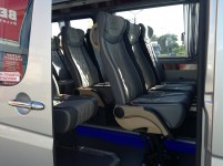 Hire 21 seater Mercedess sprinter 515 VIP Silver in Kharkiv with driver.  VIP wedding