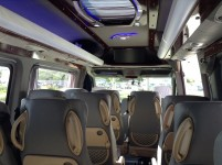 Hire 21 seater Mercedess sprinter 515 VIP Silver