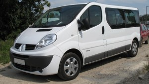 Hire 8 seater Reno Trafic with driver in Kharkiv