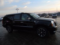 Hire Cadillac Escalade ESV Long with a driver