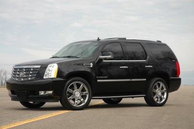 Hire Cadillac Escalade ESV Long with driver for wedding