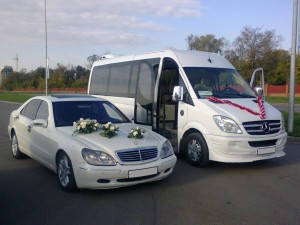 Rent 4 seater Mercedes-Benz S-Class w220 White