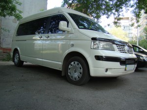 Volkswagen Transporter T5 Long, 8 мест
