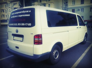 Rent 10 Seater Volkswagen Transporter T5